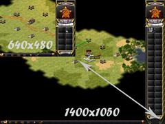 Vergleich 640x480 zu 1400x1050