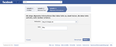 Facebook - Schritt 3 - Quelle: www.facebook.com/getting_started