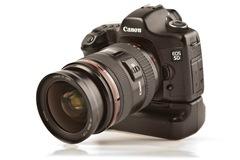 Canon 5D mit Batteriegriff und 24-70mm 2,8 L USM