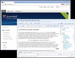 passen Joomla und Live Writer zusammen?