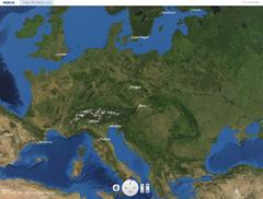 Nokia Weltkarte - Ausschnitt Europa