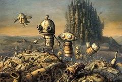 Ausschnitt aus dem bereinigten Poster von Machinarium - Quelle: http://www.adventure-treff.de/artikel/features/poster.php