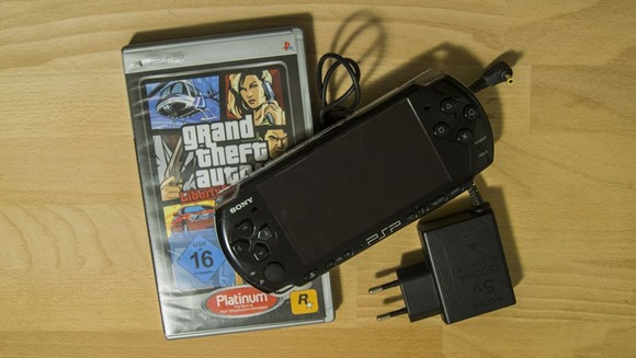 PSP mit GTA Liberty City Stories