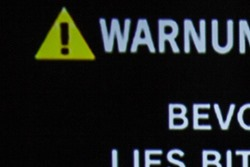 Warnung über Composite