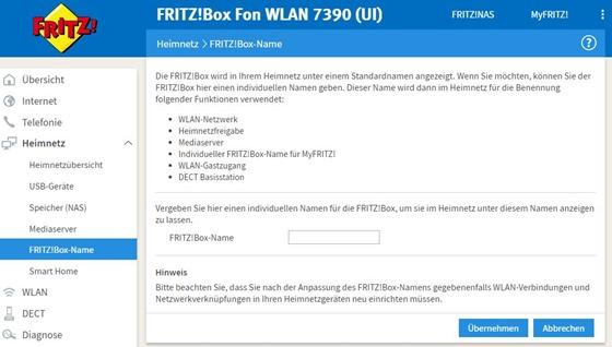 Fritzbox_Name_eintragen